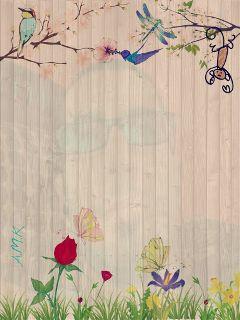 graphic art spring flower gdspringcard