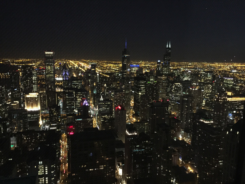 #city #nightsky #citylights #chicago #usa #scenery #inthesky #photography #skyscrapers #bigcity #lights #tower #building #towers #buildings