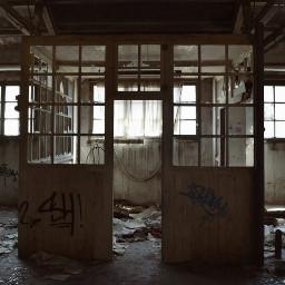 abandoned factory interesting urbex art