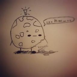 art doodle sketch pen bored