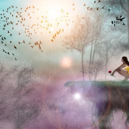 dcflyingisland draw drawing fantasy magic