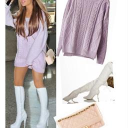 arianagrande outift fashion