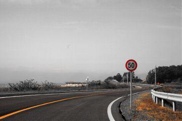 signs streetsigns travel blackandwhite