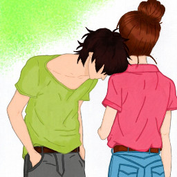 drawing coloring love couple sweet