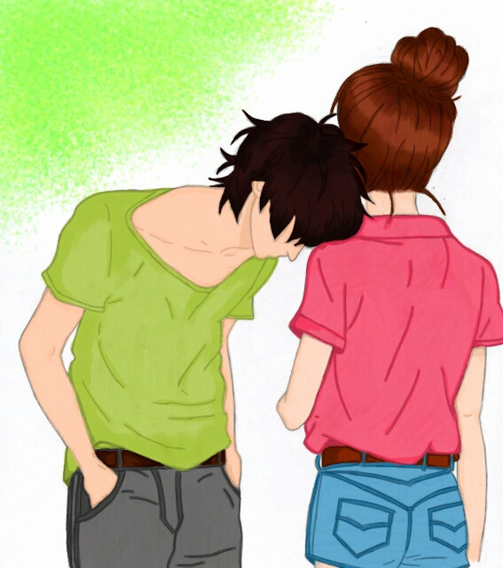#drawing #coloring #love #couple #sweet #romance