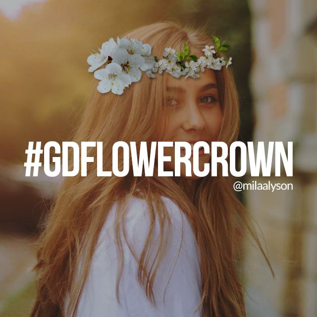 flower crown graphic design contest