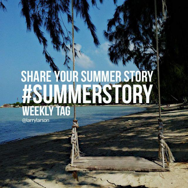 hashtag summer story