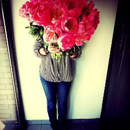 flower colorsplash cute people