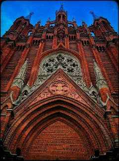 colorful architecture cathedral photography