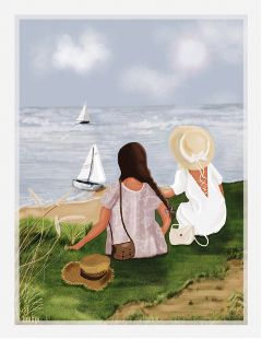 drawing picsart digitalart boat painting