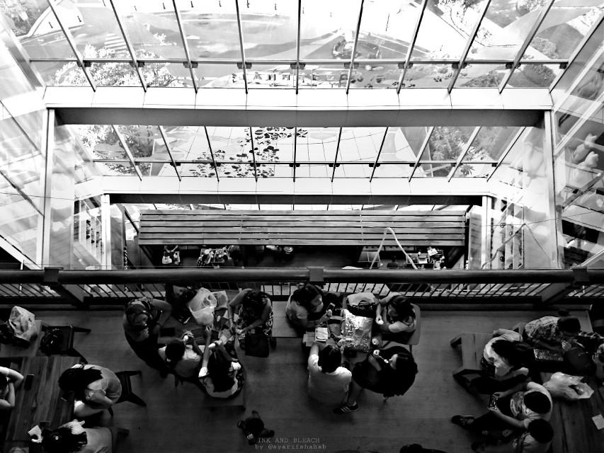 Eatery   #Café #blackandwhite #photography #inkandbleach #emotions #urban