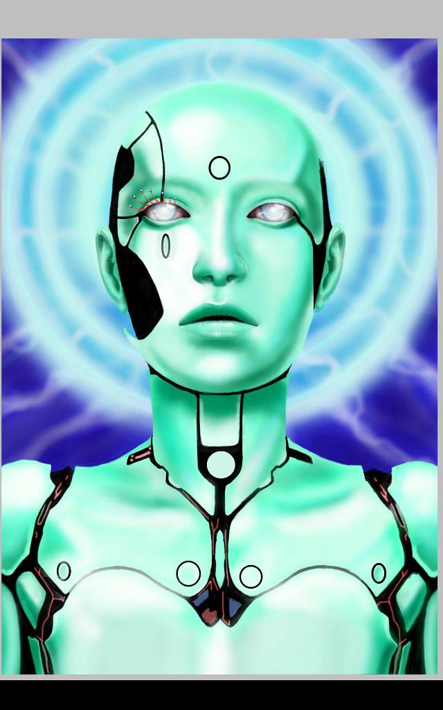 Work in progress No reference used  #artwork #painting #illustrations #face #paint #digital #drawing  #fantasy #artistic #artist  #cyborg  #biomechanic  #art #digital  #sureal