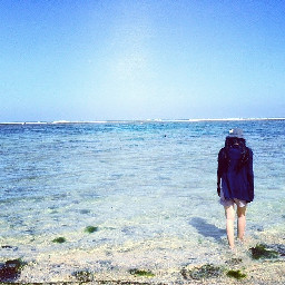 indonesian kutabeach beachwall vintage travel