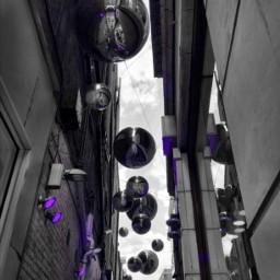 ornaments london oxfordstreet bw colorsplash