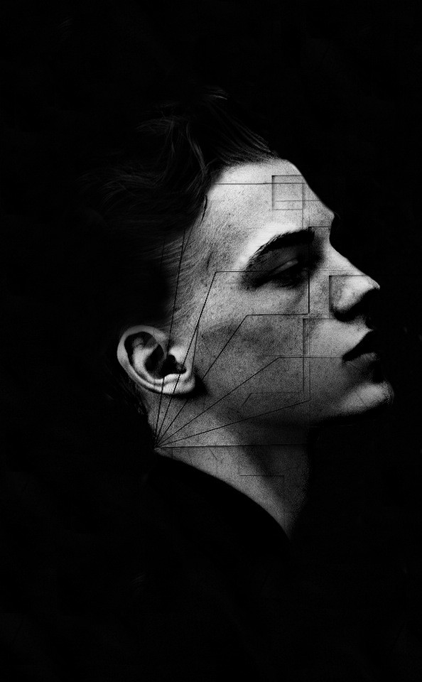 #Artwork #Abstract #Inspiration #Design #Digital #DigitalArt #GraphicDesign #Designer #Illustration #Illustrator #OriginalWork #Unique #Surreal #Creative #VisualArt #Dark #BlackAndWhite #DarkPale #Model #Boy #Geometry #Geometrical #Minimal #Face #Lines