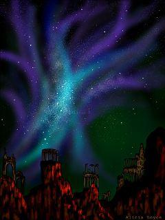 wdpnightsky dcnightsky drawing stars sky