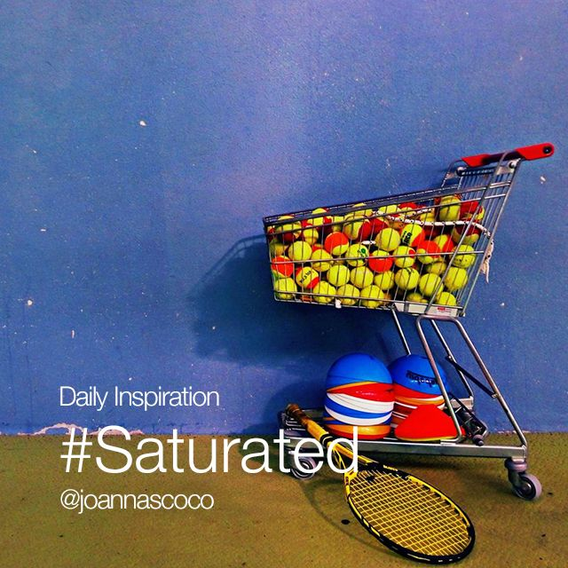 Friday Inspiration #Saturated