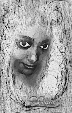 artisticselfie artistic blackandwhite edited freetoedit
