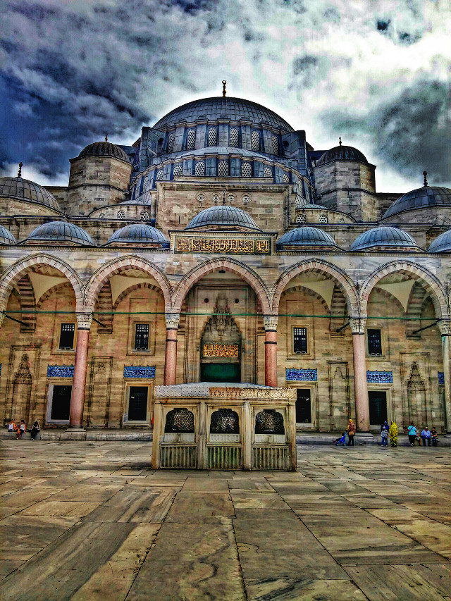 #photography #summer #travel #turkey #istanbul #mosque #nature #hdr #love #people