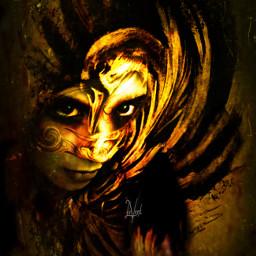 me interesting artisticselfie myedit goose mask art photography