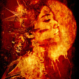 interesting me artisticselfie myedit editstepbystep picsarttools moon red fire texture undefined beautifypicsart