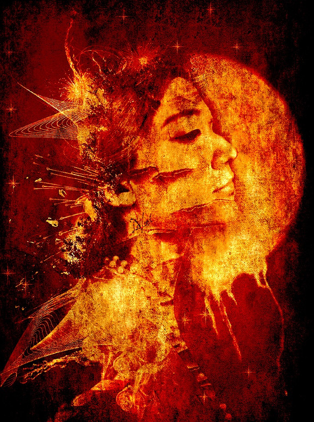 Princess Moon On Fire  #interesting #me #artisticselfie #myedit #editstepbystep #picsarttools #moon #red #fire #texture #undefined #beautifypicsart