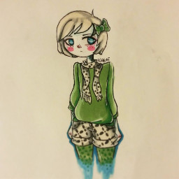 latenightdoodle art doodle sketch color