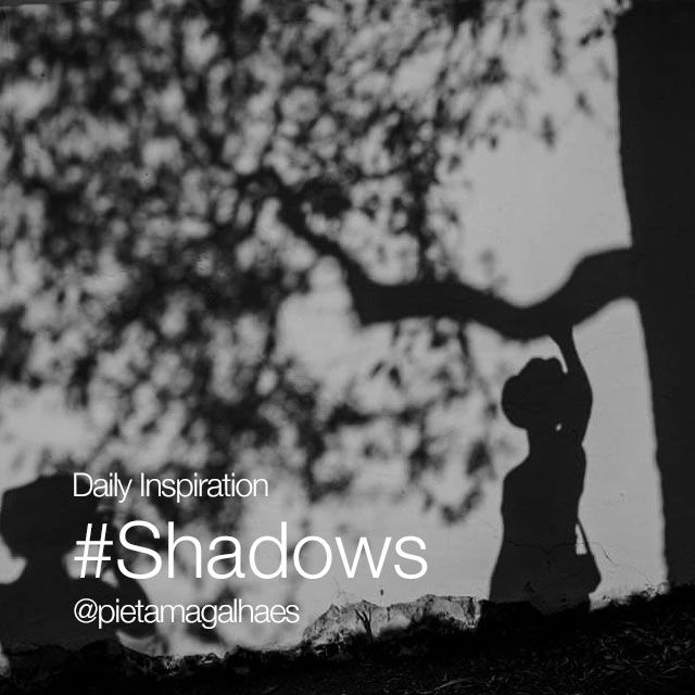 Creative photo compositions with shadows