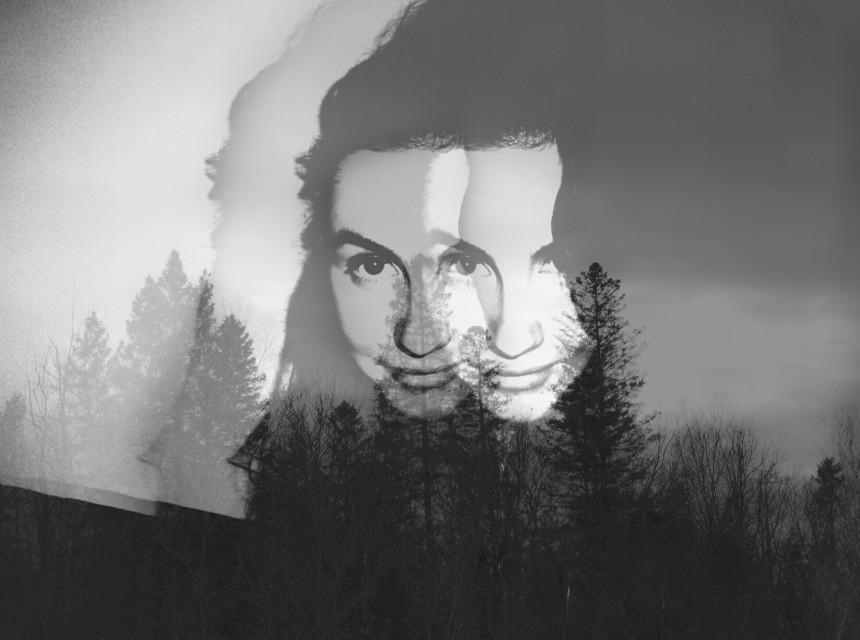 #nature #face #doubleexposure #art