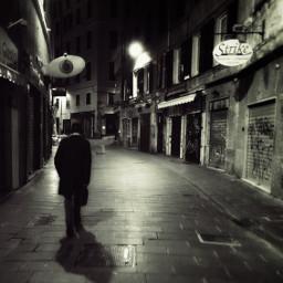 street streetphotography noir solitary solitudine