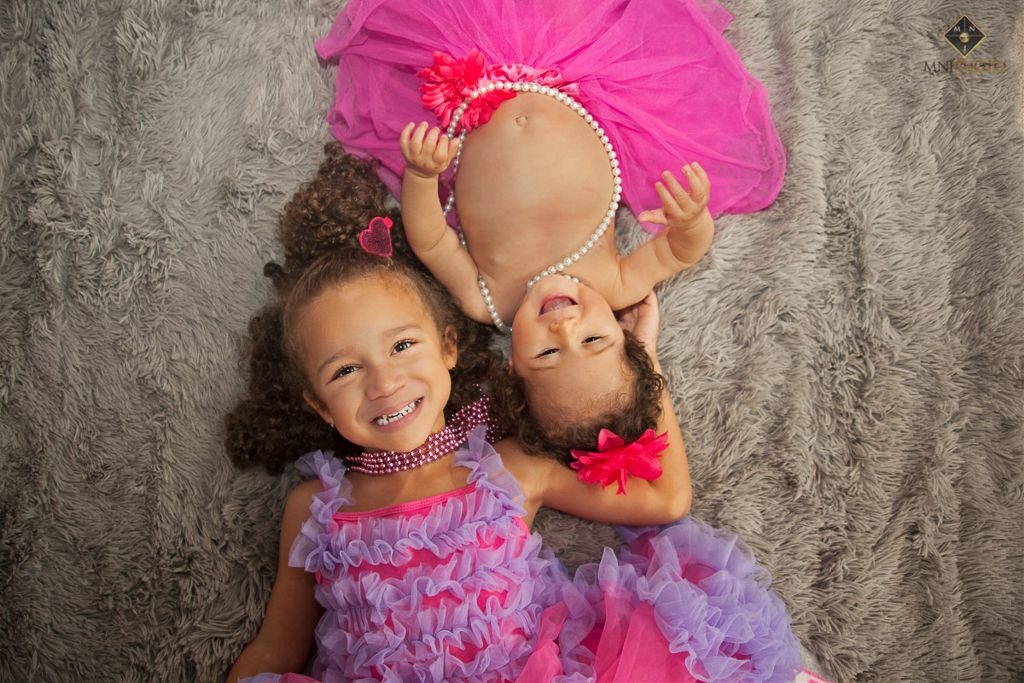Sisters!! It was such a pleasure photographing these two! #milestone #6months #sister