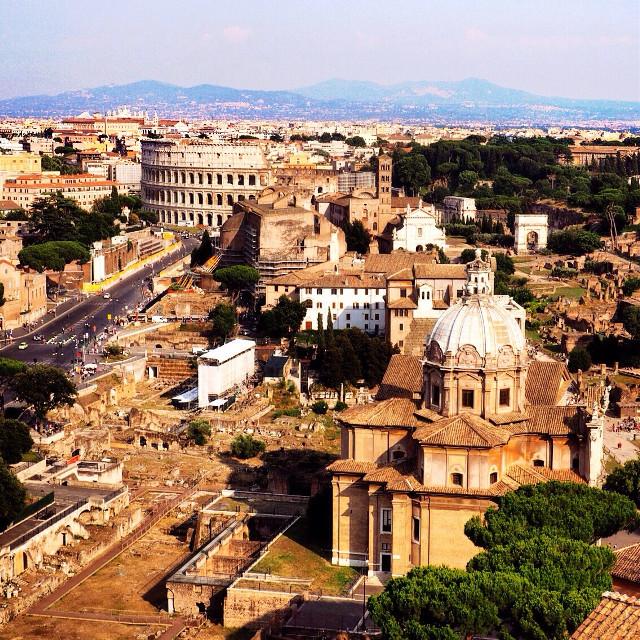 #panorama #rome #summer ☀️