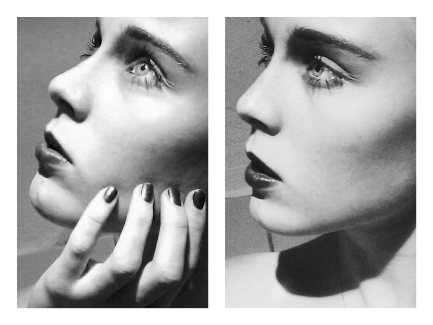 Counting Stars. 💭  #blackandwhite #collage #emotions #people #photography #serious